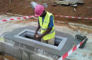 Site Installation - Gabon